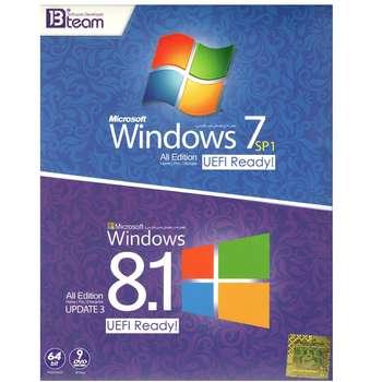 سیستم عامل ویندوز 7 و 8.1 نشر جی بی تیم