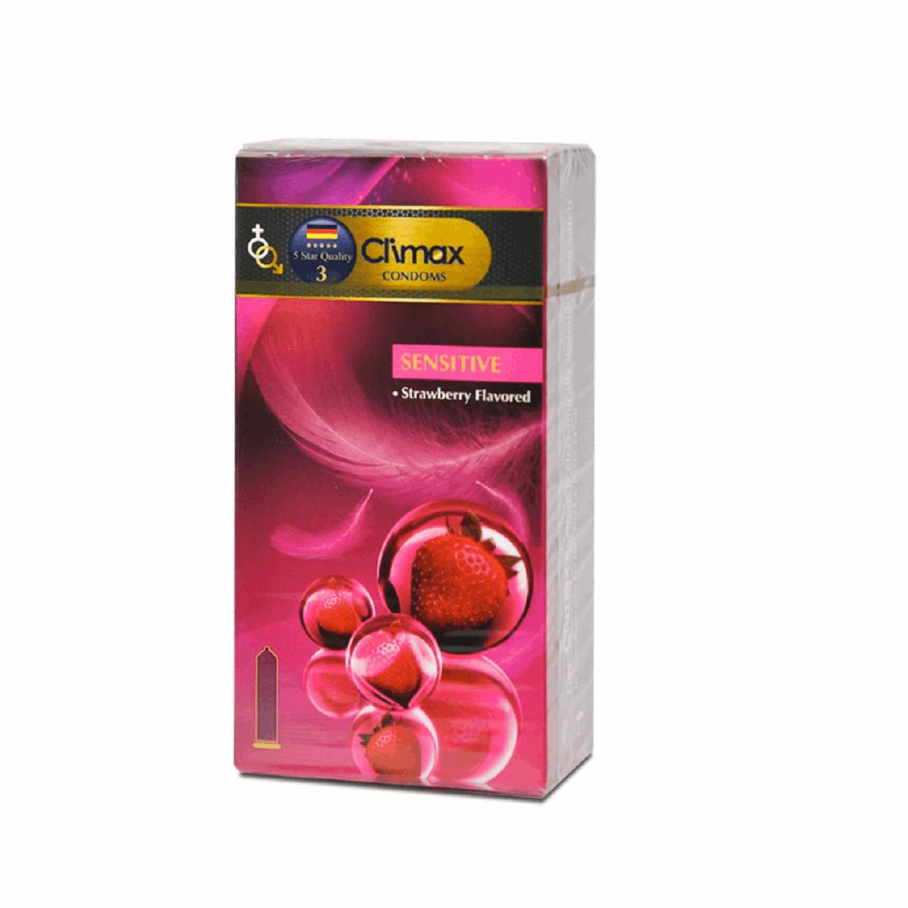 کاندوم کلایمکس مدل Sensitive 3 بسته 12 عددی