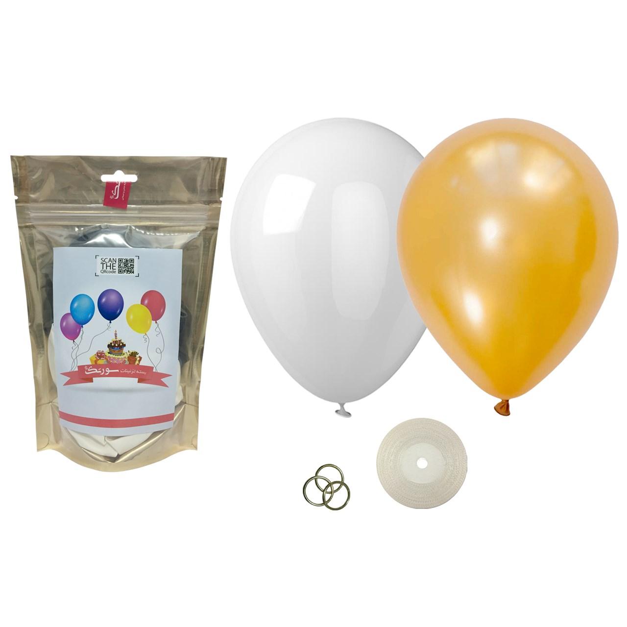 عکس پک بادکنک آرایی Helium Quality سورتک مدل STLH-14
