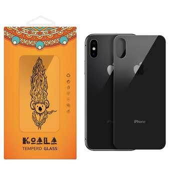 محافظ پشت گوشی شیشه ای کوالا  مدل Full Cover مناسب برای گوشی موبایل اپل آیفون X