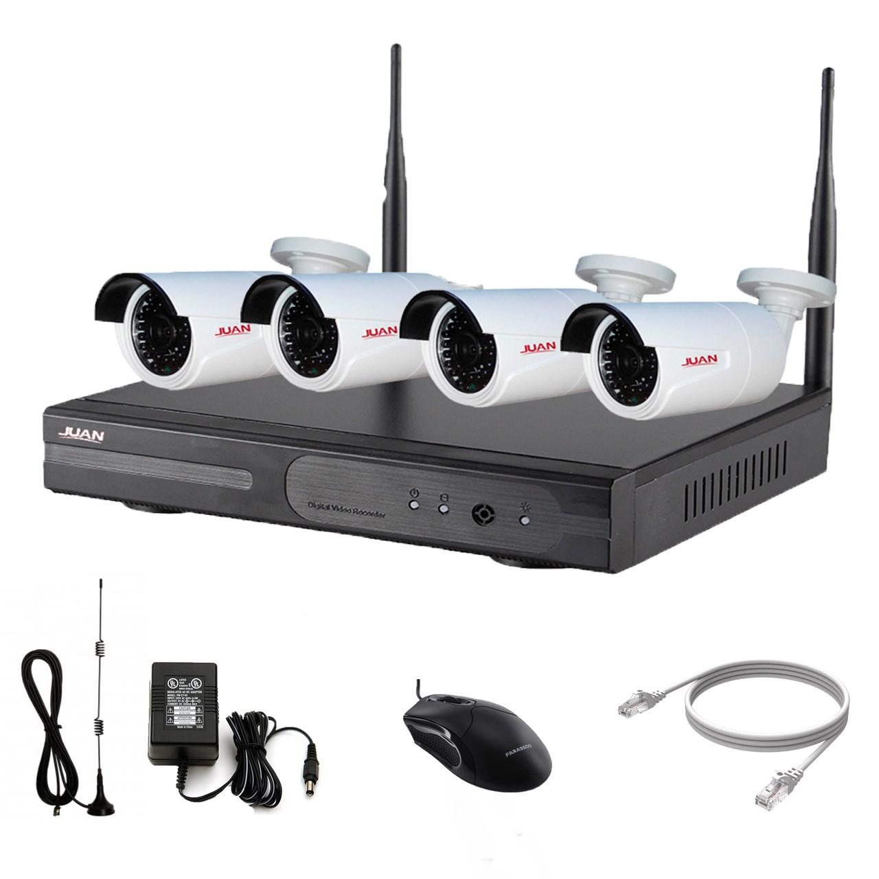 سیستم امنیتی بی سیم ژوان مدل 2mp-JA-K9604