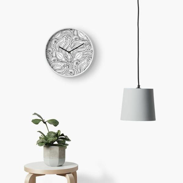 ساعت دیواری فلزی ژیوار استور مدل ویو