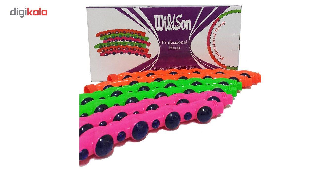 لوازم تناسب اندام ویلدسون مدل Super Double Gelly Hoop main 1 2