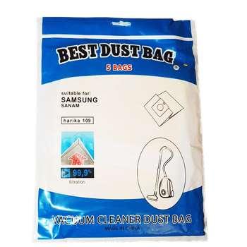 کیسه جاروبرقی کاغذی مناسب برای جاروبرقی سامسونگ و صنام