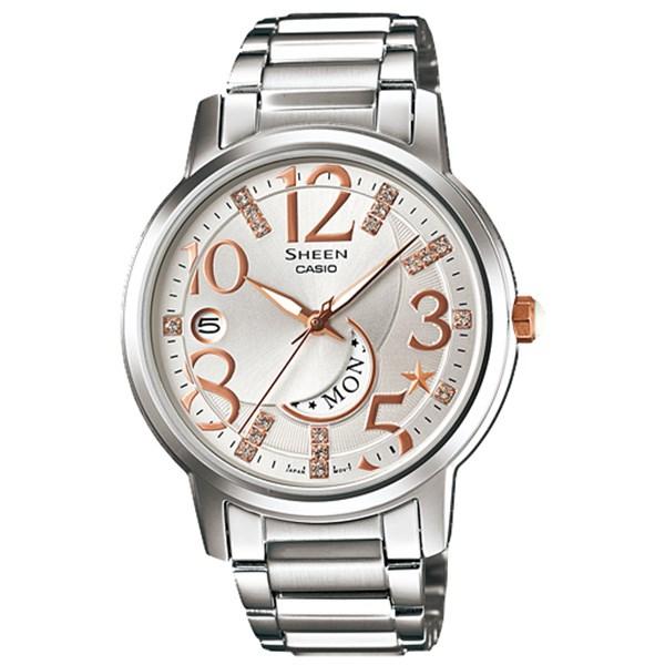 خرید ساعت مچی عقربه ای زنانه کاسیو شین SHE-4028D-7ADR