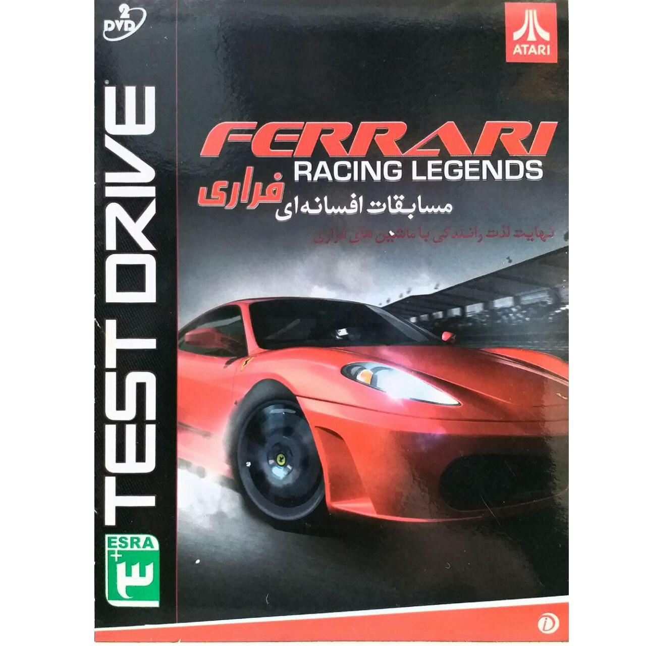 خرید اینترنتی بازی مسابقات افسانه ای ferrari racing.نشر سرزمین 541033 اورجینال
