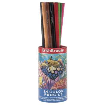 مداد رنگی 24 رنگ اریک کراوزه مدل EK32883