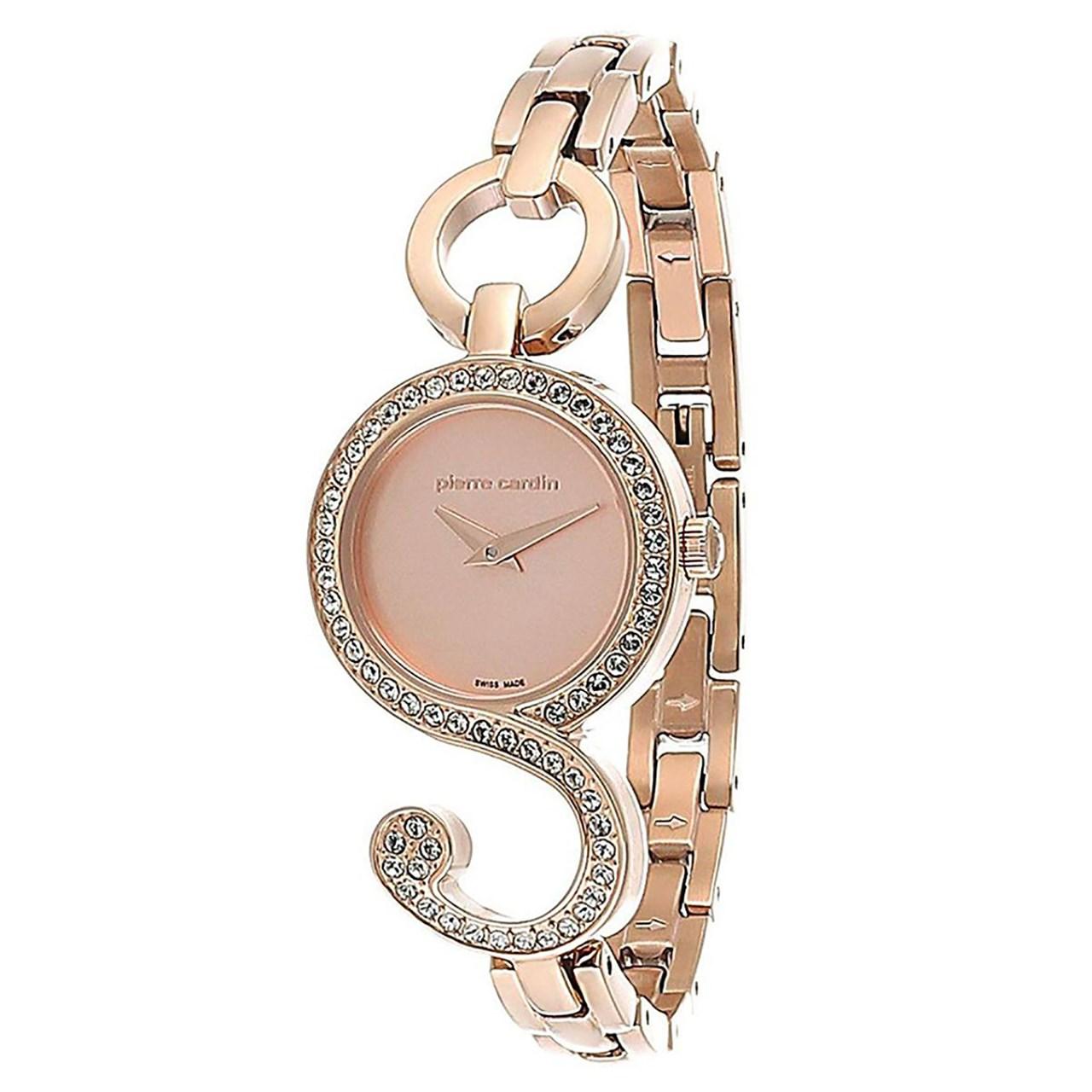 ساعت مچی عقربه ای زنانه پیر کاردین مدل PC107052S05