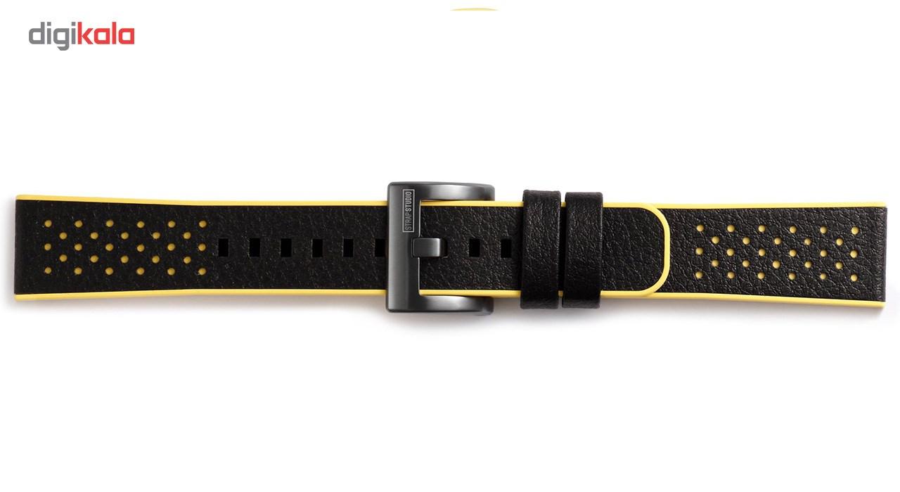 بند چرمی استرپ استودیو مدل SS-701-10 مناسب برای Gear Sport - متفرقه