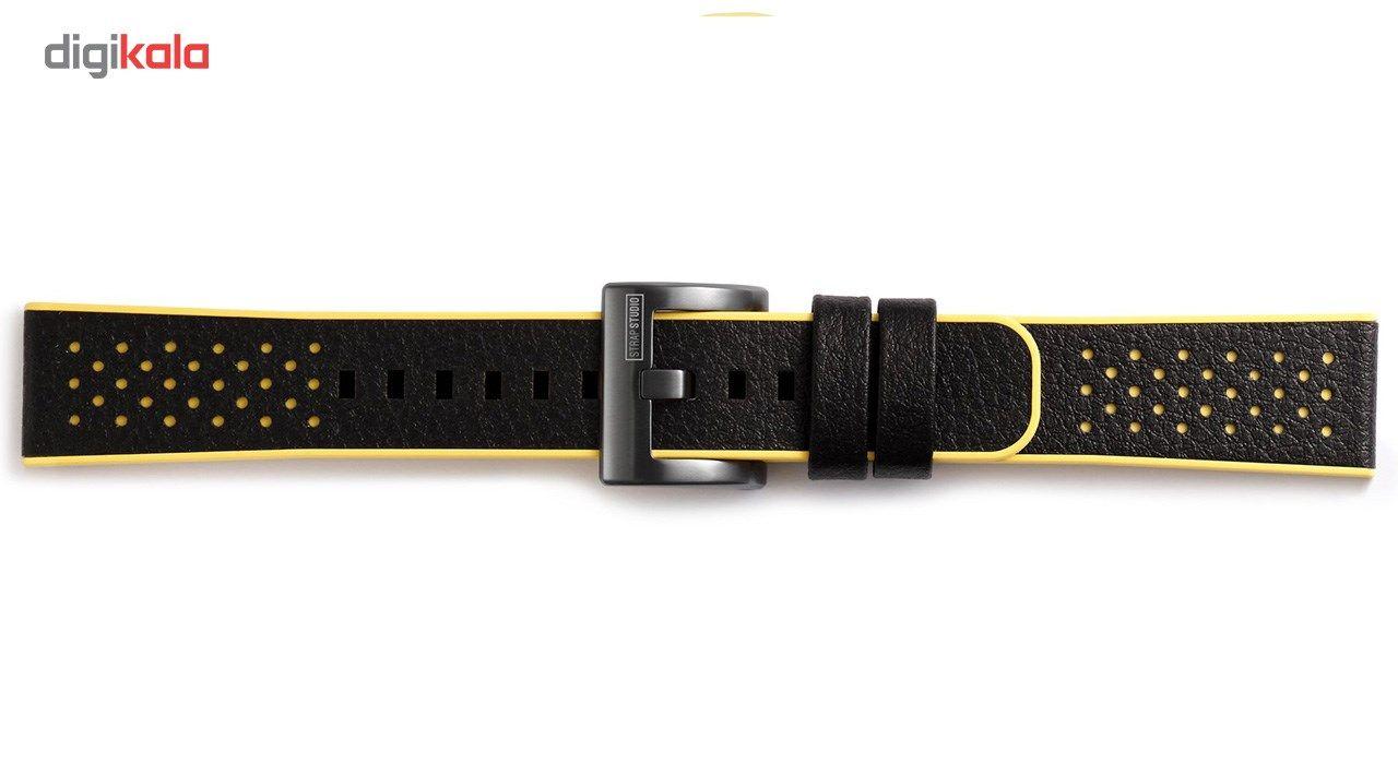 بند چرمی استرپ استودیو مدل SS-701-10 مناسب برای Gear Sport - متفرقه -  - 2