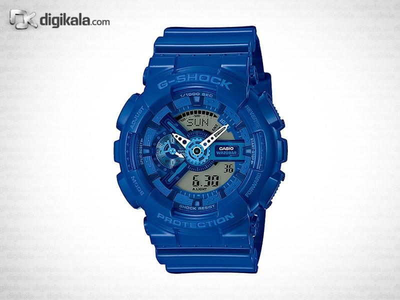 خرید ساعت مچی عقربه ای مردانه کاسیو جی شاک GA-110BC-2ADR