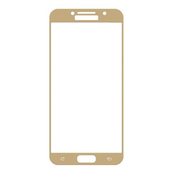 محافظ صفحه نمایش شیشه ای تمپرد مدل Full Cover مناسب برای گوشی موبایل سامسونگ Galaxy A5 2017