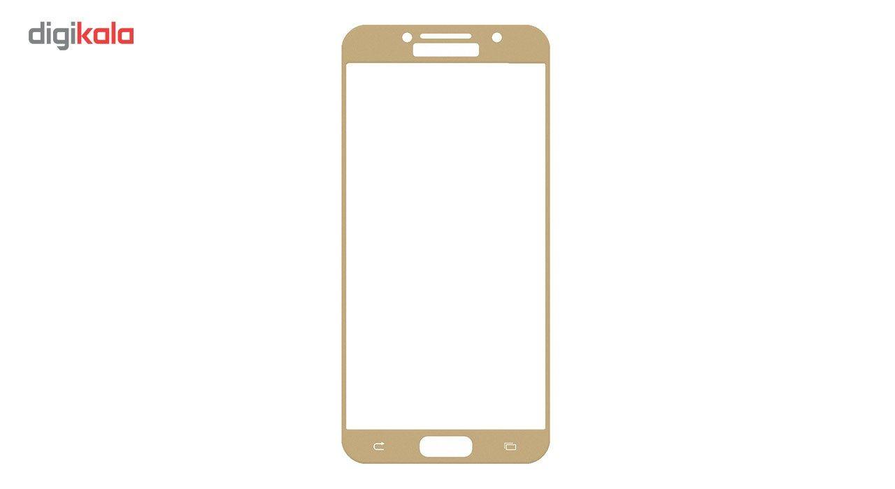 محافظ صفحه نمایش شیشه ای تمپرد مدل Full Cover مناسب برای گوشی موبایل سامسونگ Galaxy A5 2017 main 1 1