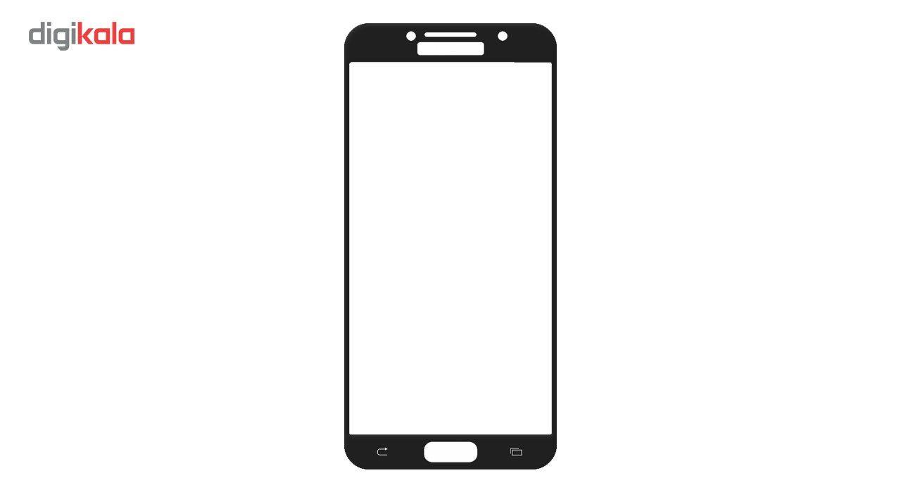 محافظ صفحه نمایش شیشه ای تمپرد مدل Full Cover مناسب برای گوشی موبایل سامسونگ Galaxy A5 2017 main 1 2
