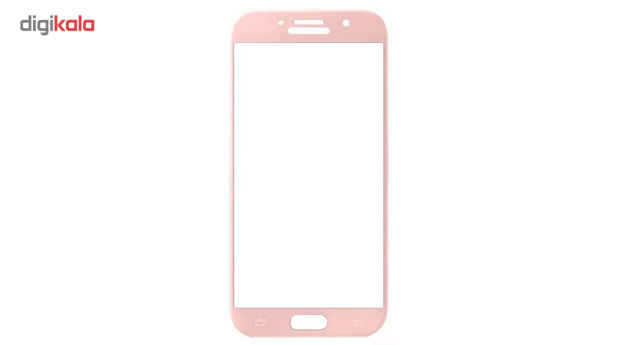 محافظ صفحه نمایش شیشه ای تمپرد مدل Full Cover مناسب برای گوشی موبایل سامسونگ Galaxy A5 2017 main 1 4