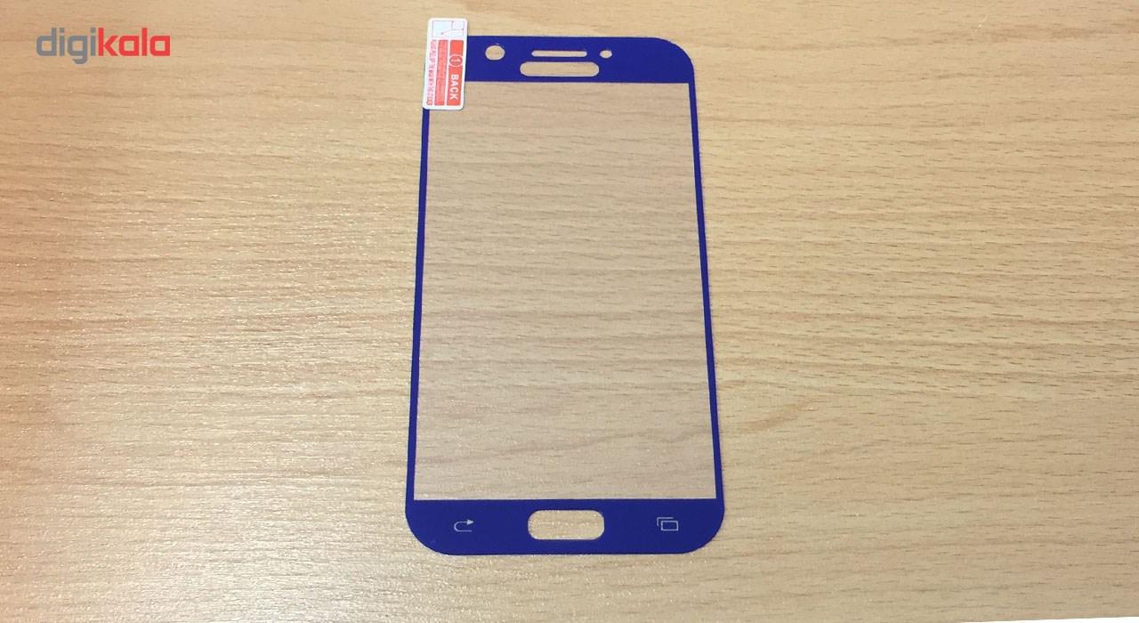محافظ صفحه نمایش شیشه ای تمپرد مدل Full Cover مناسب برای گوشی موبایل سامسونگ Galaxy A5 2017 main 1 5