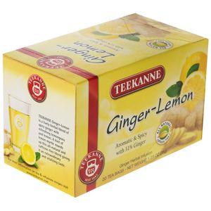 چای کیسه ای تی کانه مدل Ginger Lemon بسته 20 عددی