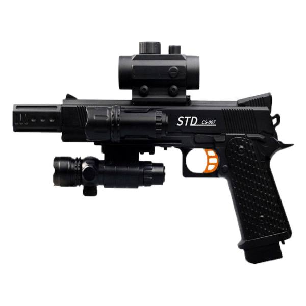 اسباب بازی کلت شارژی ژله ای M1911