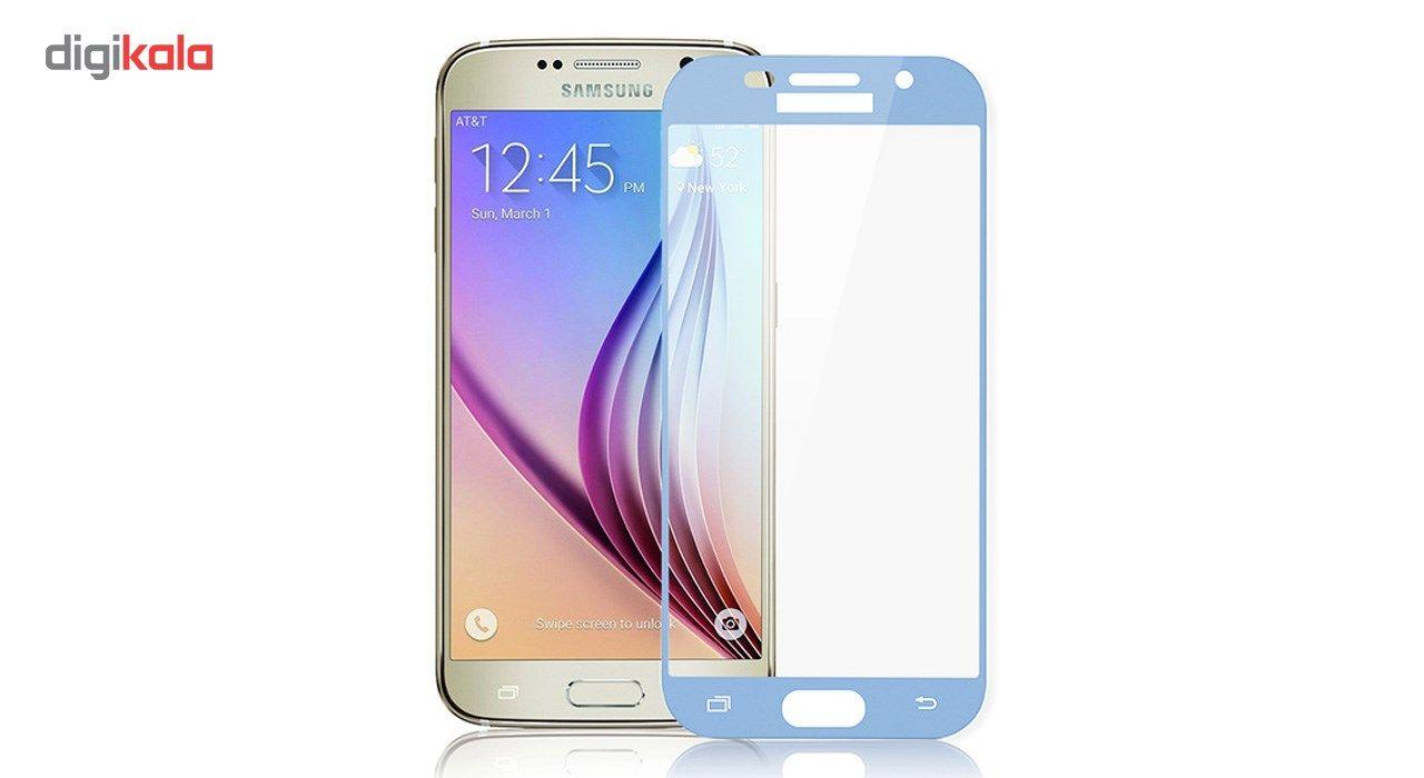 محافظ صفحه نمایش شیشه ای تمپرد مدل Full Cover مناسب برای گوشی موبایل سامسونگ Galaxy A5 2017 main 1 6