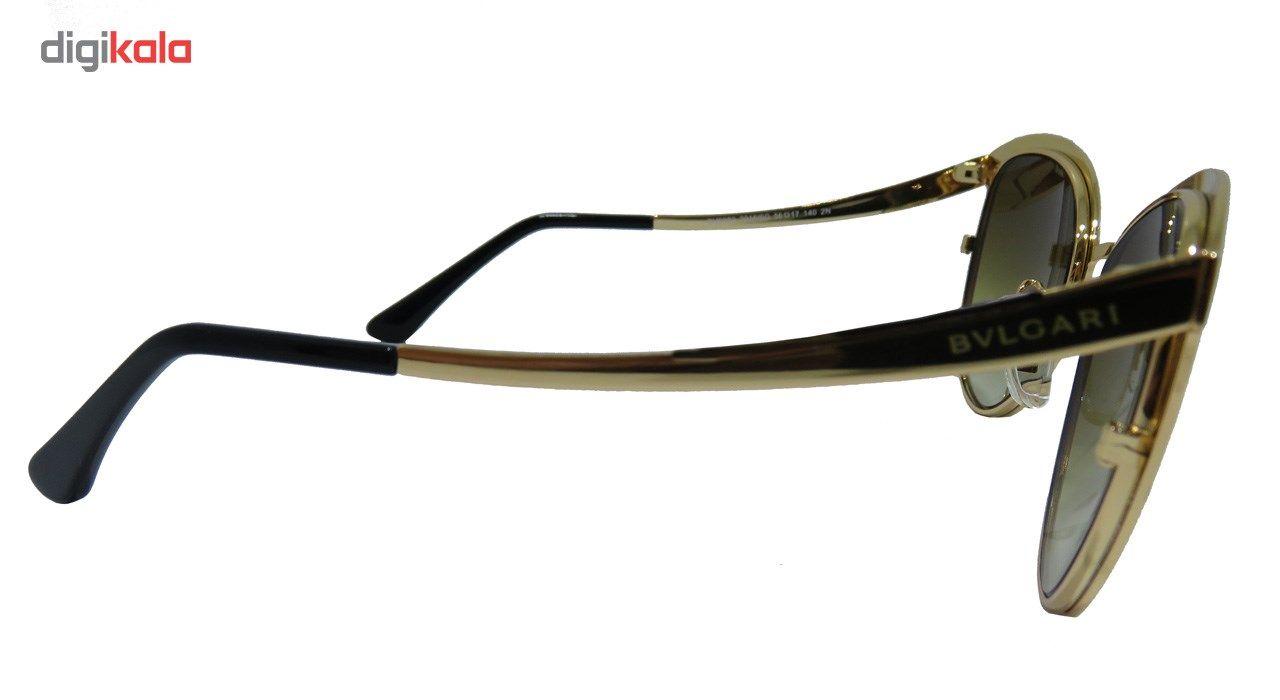 عینک آفتابی بولگاری مدل BV6083 2016/6G 2N-Original 19 -  - 4