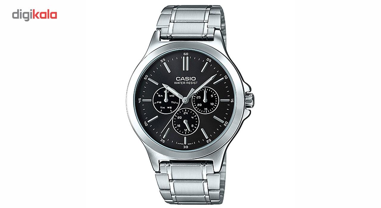 خرید ساعت مچی عقربه ای مردانه کاسیو مدل MTP-V300D-1AUDF | ساعت مچی