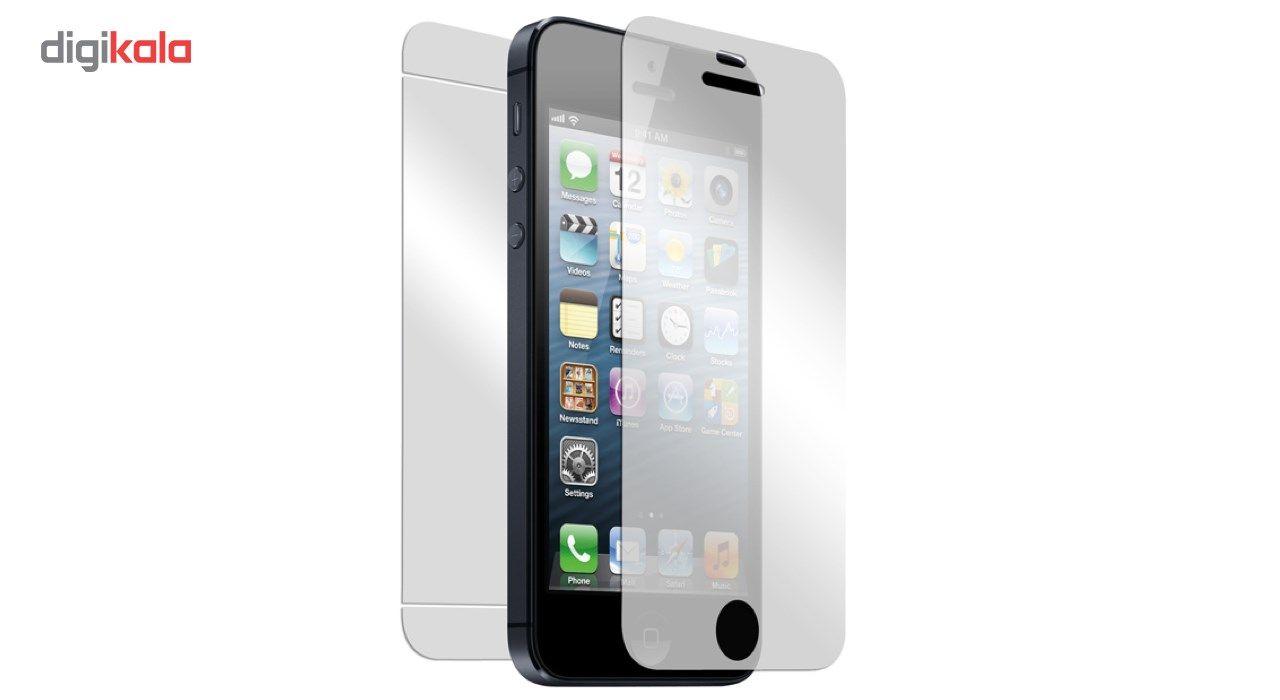 محافظ پشت و رو شیشه ای تمپرد هوکار مناسب برای گوشی موبایل اپل ایفون 5/5s/se main 1 1