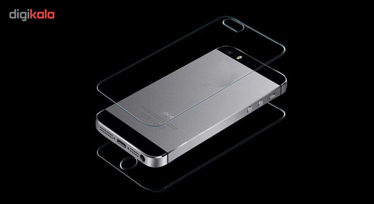 محافظ پشت و رو شیشه ای تمپرد هوکار مناسب برای گوشی موبایل اپل ایفون 5/5s/se main 1 2