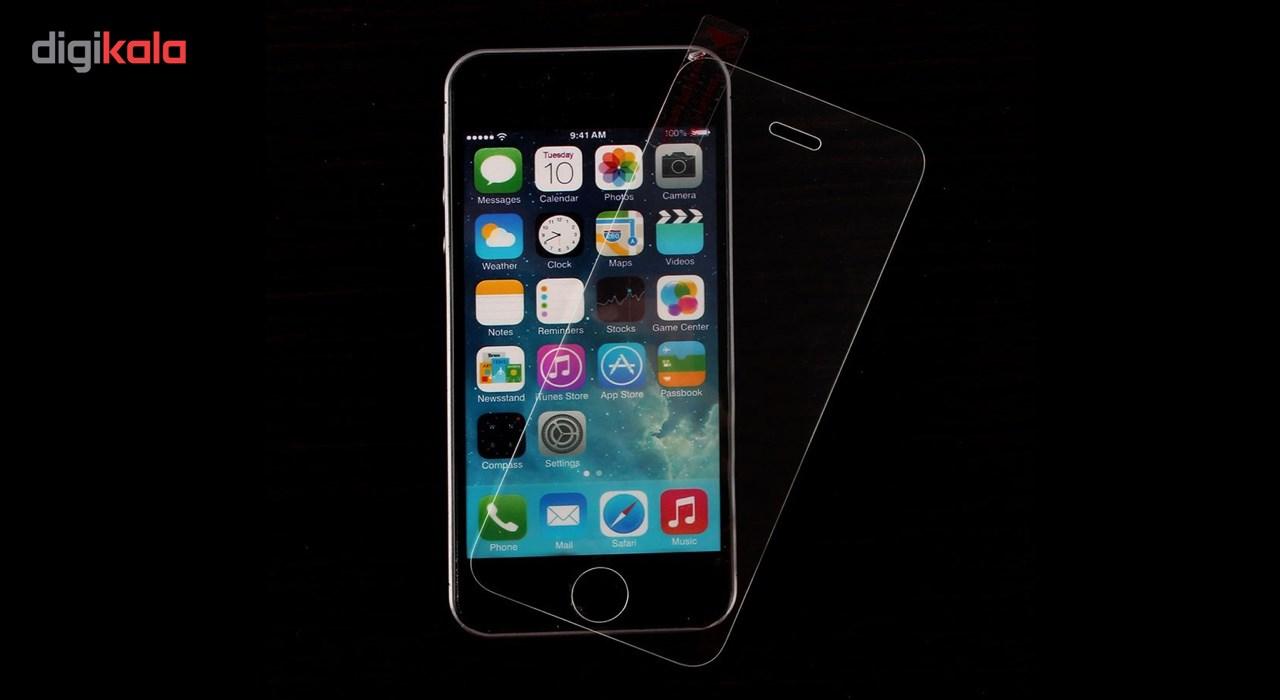 محافظ پشت و رو شیشه ای تمپرد هوکار مناسب برای گوشی موبایل اپل ایفون 5/5s/se main 1 3