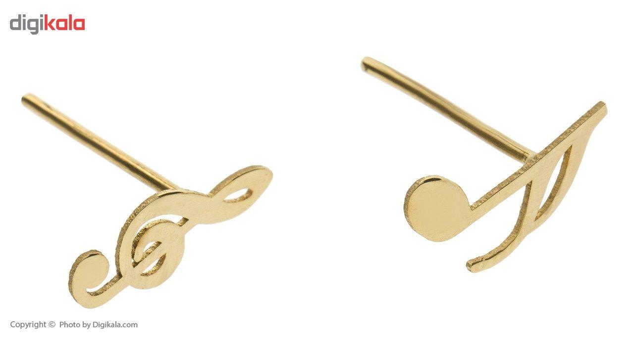 نیم ست طلا 18 عیار ماهک مدل MS0038 - مایا ماهک -  - 6