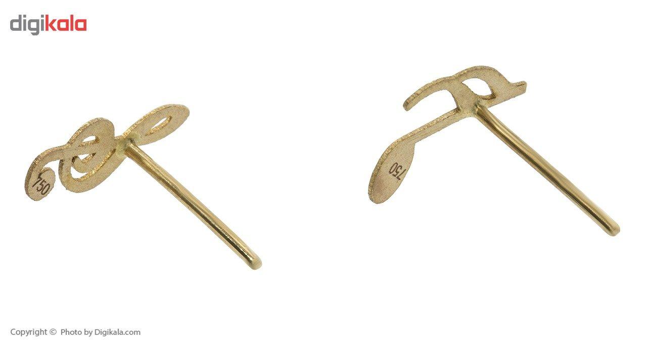 نیم ست طلا 18 عیار ماهک مدل MS0038 - مایا ماهک -  - 4