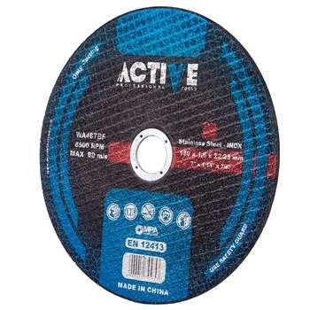 صفحه سنگ برش استیل اکتیو تولز مدل AC51116