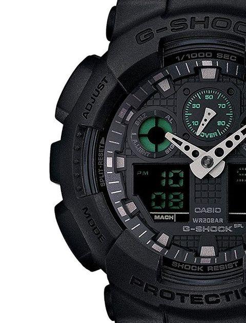 ساعت مچی عقربه ای مردانه کاسیو جی شاک مدل GA-100MB-1ADR -  - 3