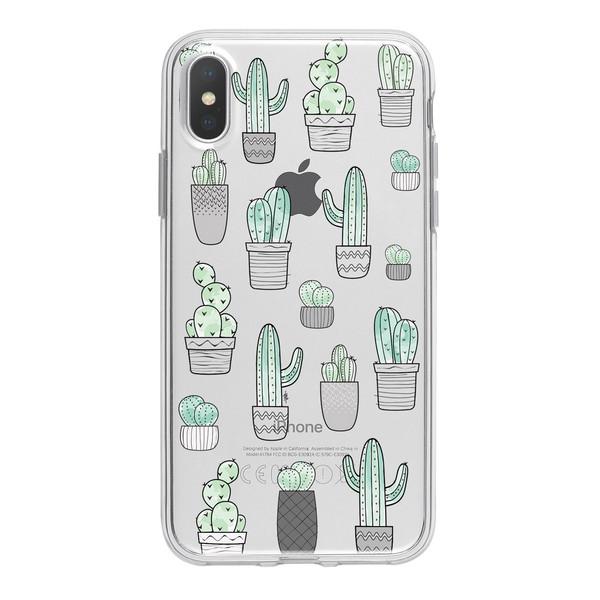 کاور ژله ای مدل Cactus مناسب برای گوشی موبایل آیفون X / 10