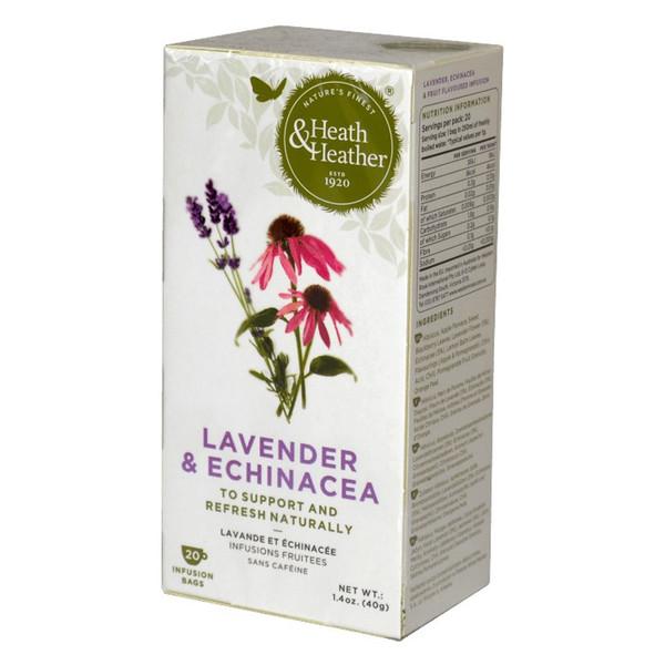 بسته دمنوش هیت و هیتر مدل Lavender And Echinacea