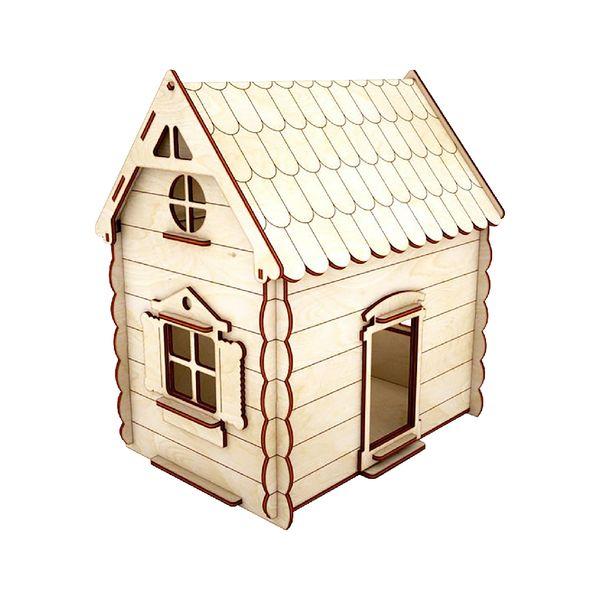 ساختنی طرح خانه عروسکی مدل شیروانی کد70-11