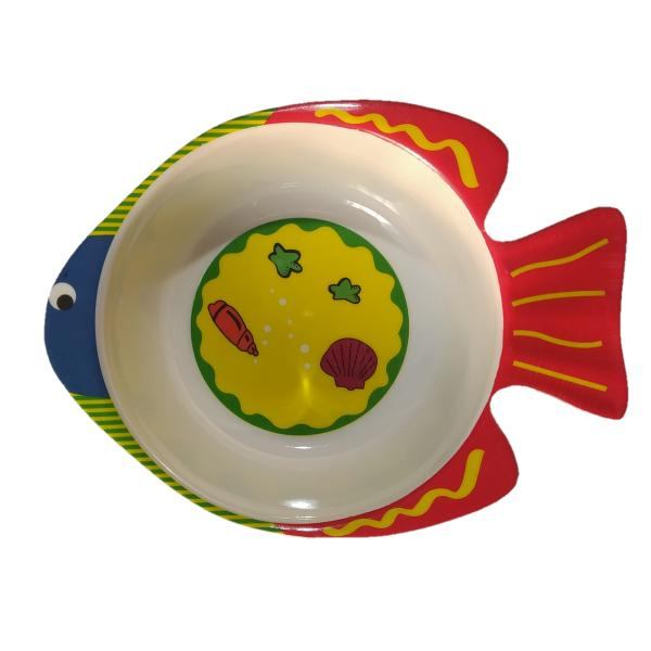 ظرف غذای کودک مدل fish-1