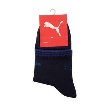 جوراب مردانه مدل P-2020 رنگ سرمه ای