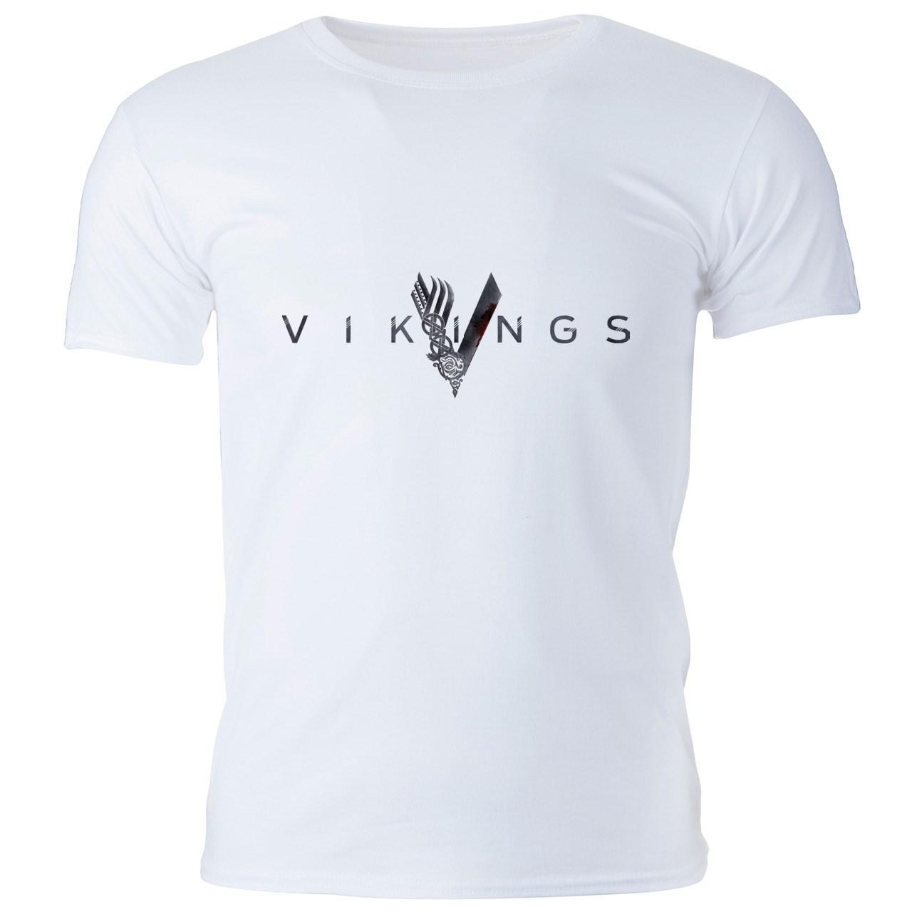 تی شرت مردانه گالری واو طرح Vikings کد CT10217