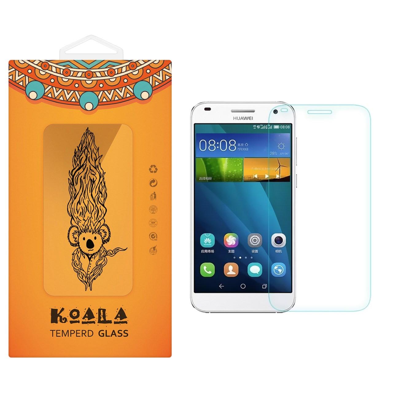 محافظ صفحه نمایش شیشه ای کوالا مدل Tempered مناسب برای گوشی موبایل هوآوی Honor 3X G750