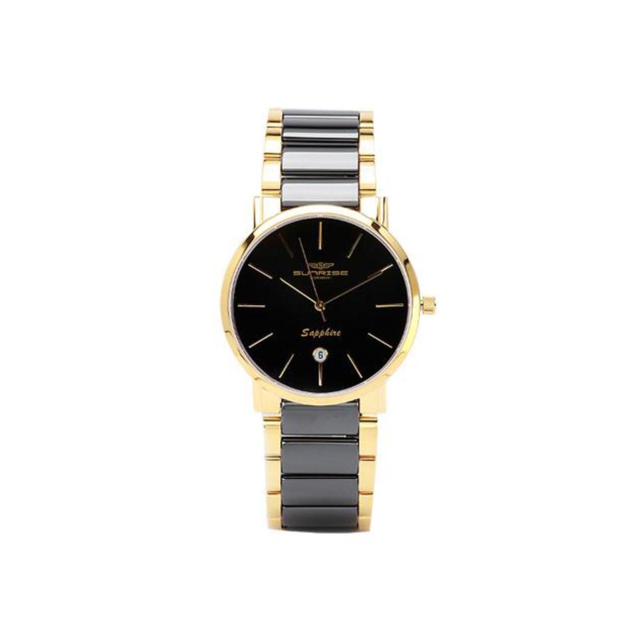 ساعت مچی عقربه ای مردانه سانرایز مدل SG8051.2501