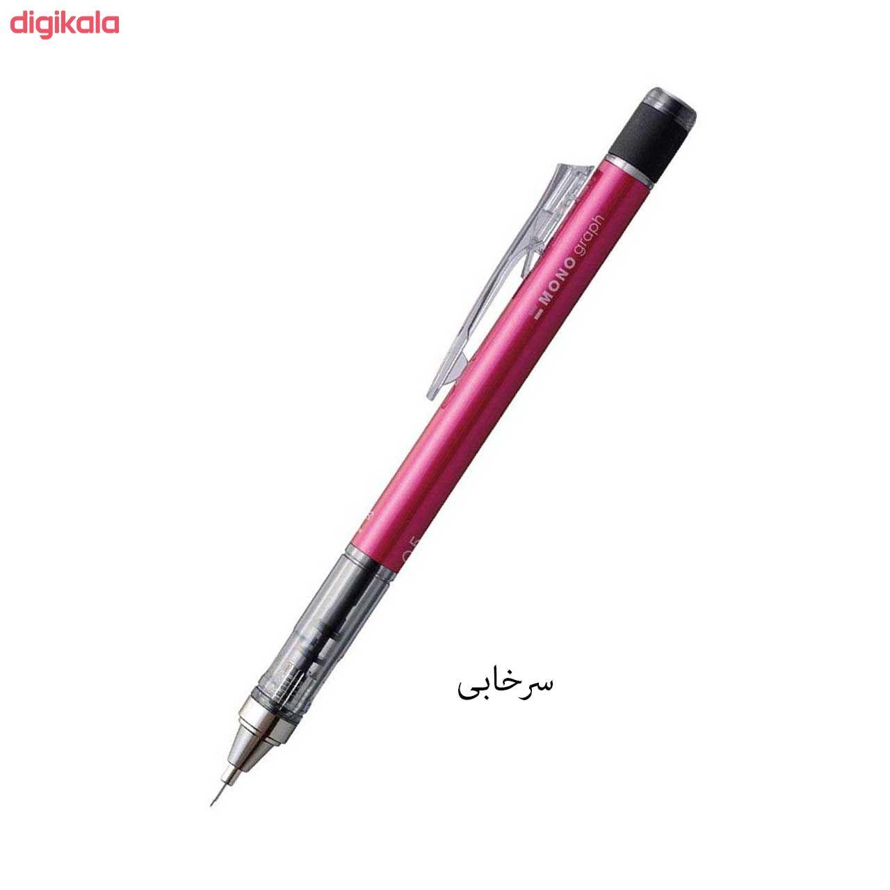 مداد نوکی 0.5 میلی متری تومبو مدل MONO GRAPPH main 1 7