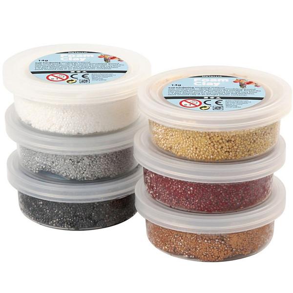 خمیر بازی دانه های رنگی مدل 78810 بسته 6 عددی