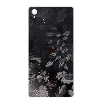 برچسب تزئینی ماهوت مدل Wild-flower Texture مناسب برای گوشی  Sony Xperia Z1