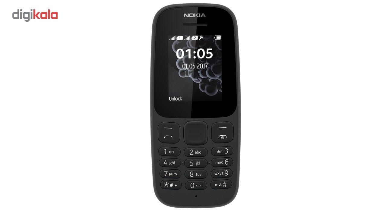 گوشی موبایل نوکیا مدل 105 (2017) دو سیم کارت main 1 1
