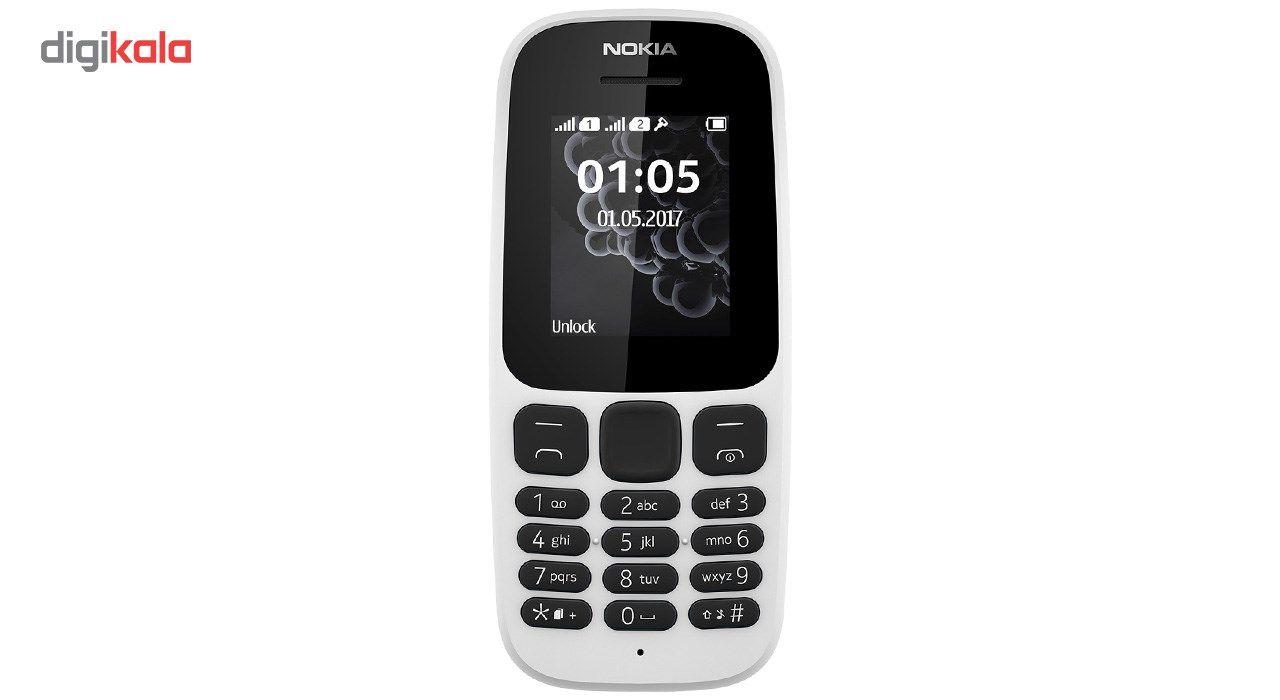 گوشی موبایل نوکیا مدل 105 (2017) دو سیم کارت main 1 3