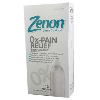 کاندوم زنون مدل 0-Pain Relief بسته 12 عددی