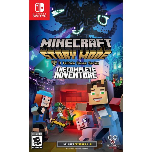 بازی Minecraft Story Mode The Complete Adventure مخصوص Nintendo Switch