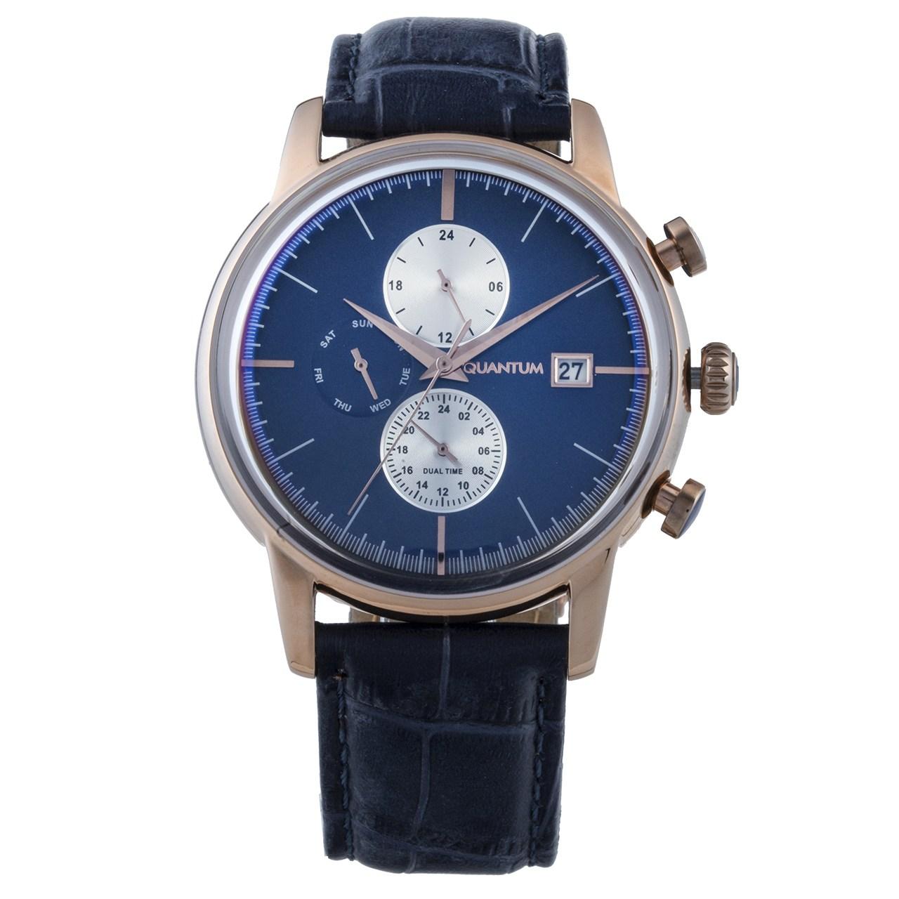 ساعت مچی عقربه ای مردانه کوانتوم مدل ADG614.499 38