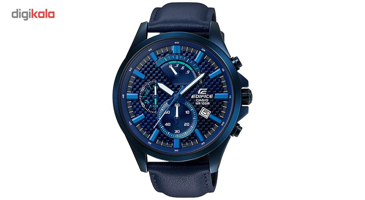 خرید ساعت مچی عقربه ای مردانه کاسیو مدل EFV-530BL-2AVUDF