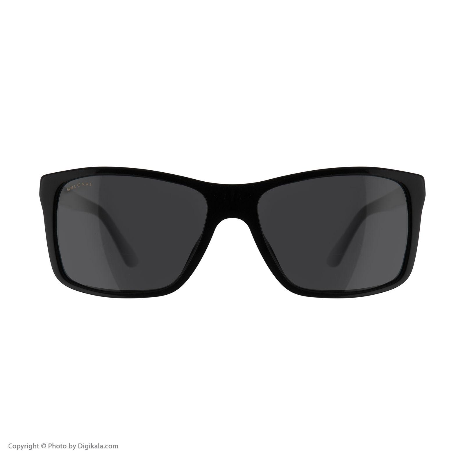 عینک آفتابی زنانه بولگاری مدل BV7015S 50187 -  - 3